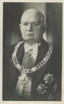 Konstantin Päts. Foto: Rahvusarhiiv