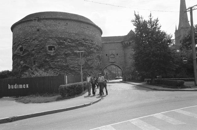 Paks Margareeta Tallinnas, mida alates 1978. aastast restaureeris Poola firma Budimex. Foto: Eesti Rahva Muuseumi digikogu, Viktor Salmre