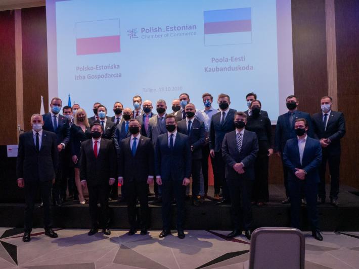 Poola-Eesti kaubanduskoja taasavamine 19.oktoobril 2020 Tallinnas