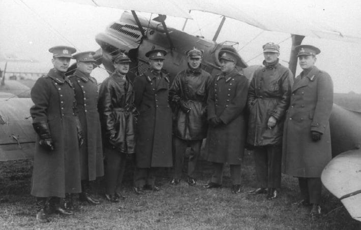 Poola lendurid külaskäigul Eestis. Foto: Rahvusarhiiv