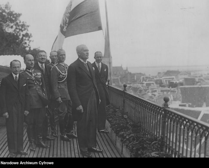 Poola Vabariigi presidendi Ignacy Mościcki ametlik visiit Eestisse. Foto: Poola Rahvuslik Digitaalarhiiv