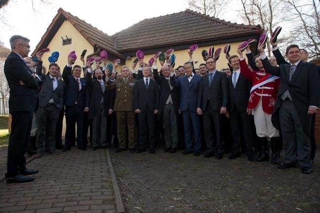 President Toomas Hendrik Ilves Gdańskis külastamas Konwent Poloniat. Foto: Raigo Pajula